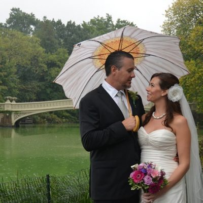 Central Park Elopement at Bethesda Fountain Terrace