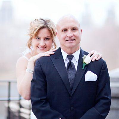 Central Park Wedding at Belvedere Castle Terrace