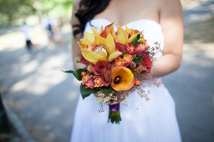 fall-orange-bridal-bouquet
