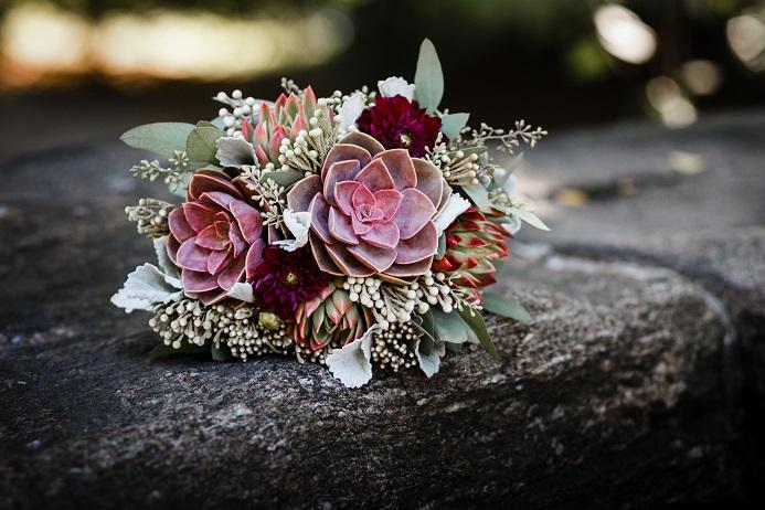 purple-succulent-bouquet