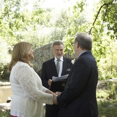 Central Park Vow Renewal at Gapstow Bridge