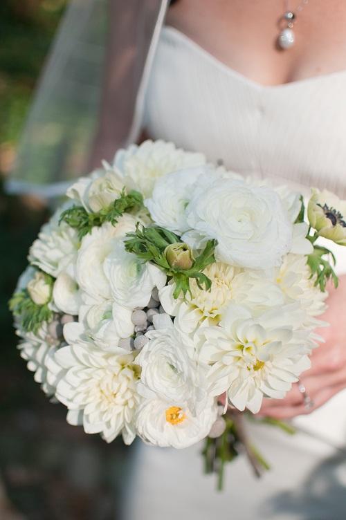 white-ranunculus-dahlia-bridal-bouquet