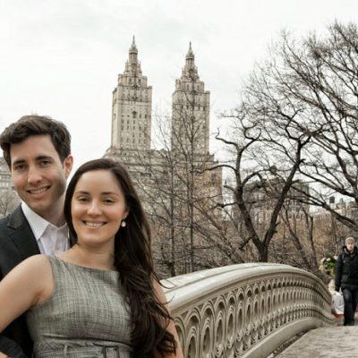 A Central Park Engagement