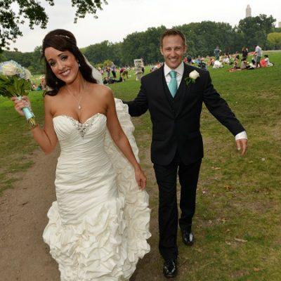 NYC Destination Wedding at Bethesda Fountain
