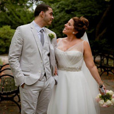 Conservatory Garden Wedding in Central Park