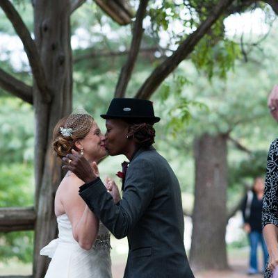 Cop Cot Wedding in Central Park