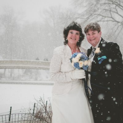 Bethesda Fountain Winter Wedding in Central Park