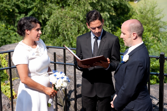 summer-wedding-ceremony-belvedere-castle-central-park