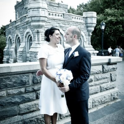 Summer Wedding at Belvedere Castle, Central Park