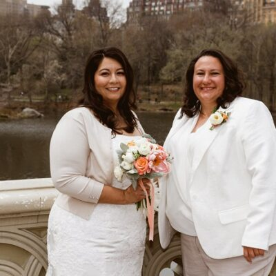 April Wedding at Ladies Pavilion, Central Park