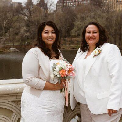 April Wedding at Ladies Pavilion, Central Park