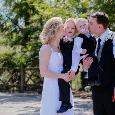 Wedding at Shakespeare Garden, Central Park
