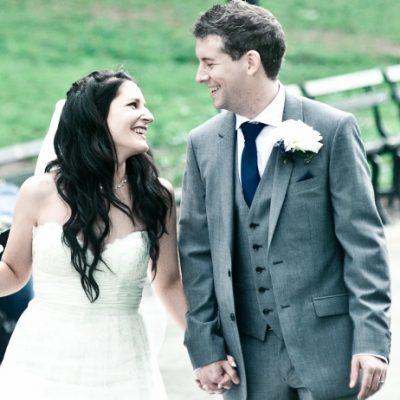 Spring Wedding at Bethesda Fountain, Central Park