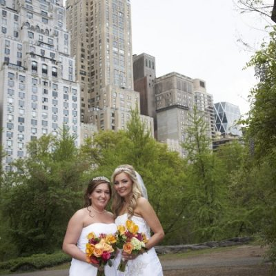 Spring Wedding at Cop Cot, Central Park