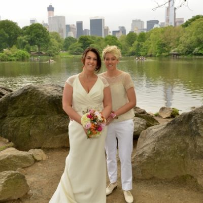 Ladies Pavilion Destination Wedding in Central Park