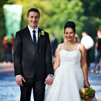 Fall Wedding on Cherry Hill, Central Park