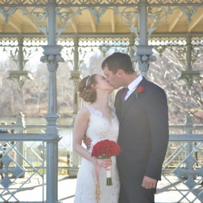 Wedding Abroad at the Ladies Pavilion, Central Park