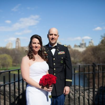 Belvedere Castle Wedding in Central Park