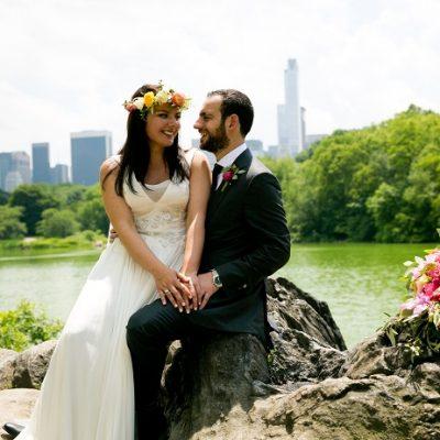 June Wedding at Ladies Pavilion, Central Park