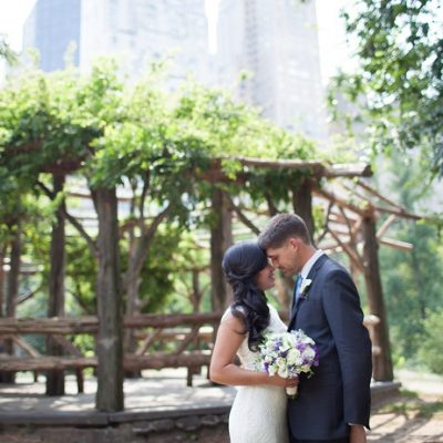 Romantic Elopement at Cop Cot, Central Park