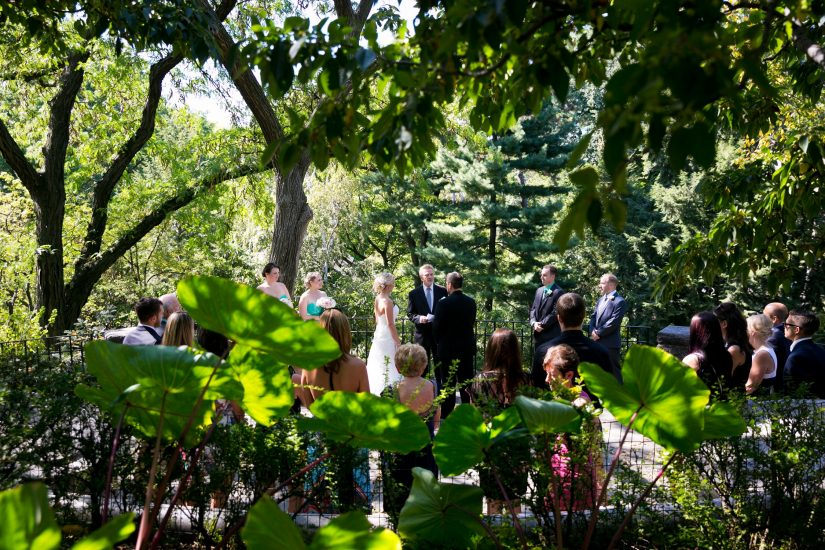Shakespeare Garden A Central Park Wedding Get Married In Nyc