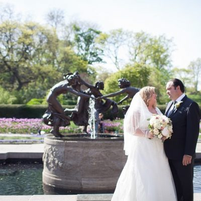 North Garden Wedding at the Conservatory Garden