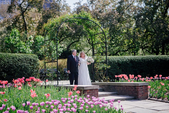 North Garden Conservatory Garden Wedding (4)